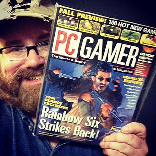 "PC Gamer Featuring ""Rainbow 6"" June ..."