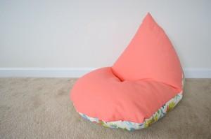 otroška vreča za sedenje