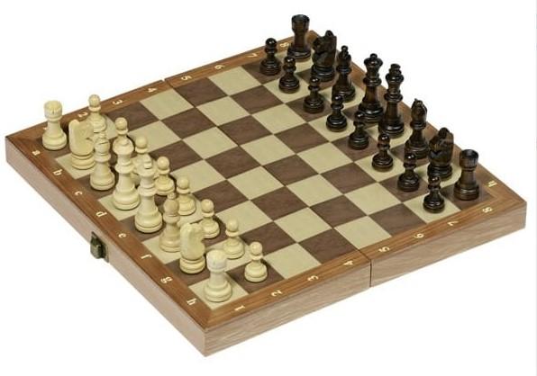 Leseni šah tudi za manjše otroke