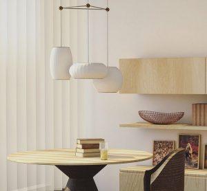 Lestenci so bili narejeni z namenom, da ustvarijo topel in domač občutek v vsakem domu