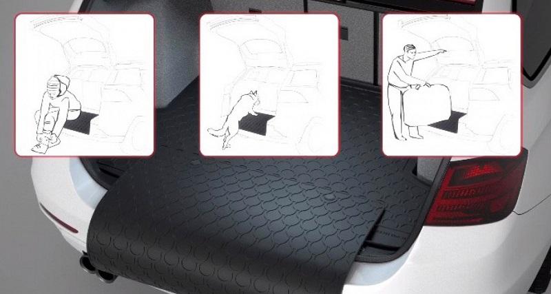 Kvalitetna avtomobilska prtljažna korita